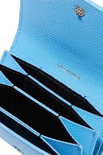 Balenciaga Ville printed textured-leather cardholder Image 1