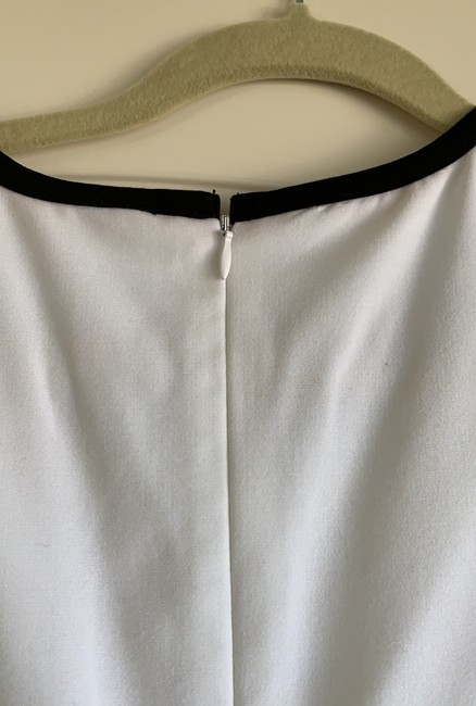 Calvin Klein short dress light olive, white with black trimming on Tradesy Image 3