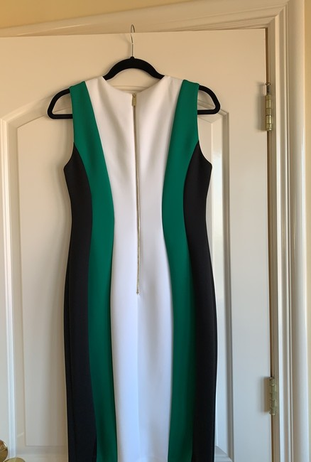 Calvin Klein short dress black, green and white on Tradesy Image 2