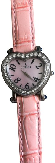Preload https://img-static.tradesy.com/item/25951012/corum-pink-diamond-heart-beat-watch-0-3-540-540.jpg