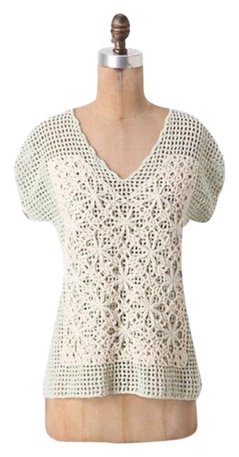 Preload https://img-static.tradesy.com/item/25951058/anthropologie-mixed-media-crochet-by-field-flower-blouse-size-6-s-0-1-650-650.jpg