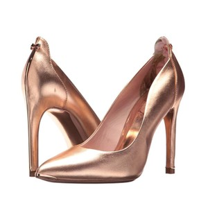 Ted Baker Pointedtoe Melisah Rose Gold Pumps