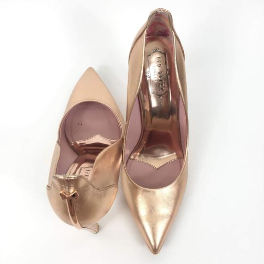 Ted Baker Pointedtoe Melisah Rose Gold Pumps Image 1