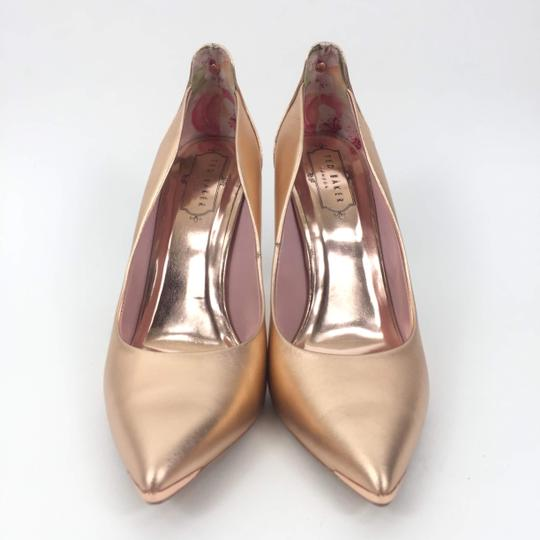 Ted Baker Pointedtoe Melisah Rose Gold Pumps Image 2
