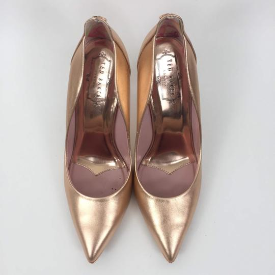 Ted Baker Pointedtoe Melisah Rose Gold Pumps Image 3