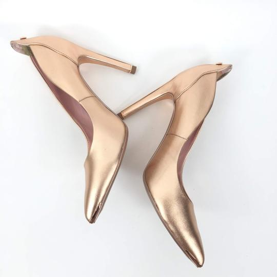 Ted Baker Pointedtoe Melisah Rose Gold Pumps Image 5