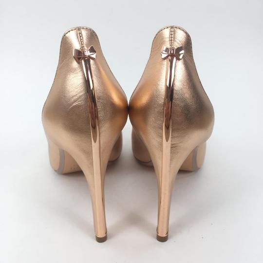 Ted Baker Pointedtoe Melisah Rose Gold Pumps Image 6