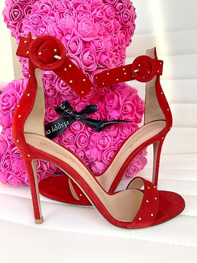 Gianvito Rossi red Sandals Image 6