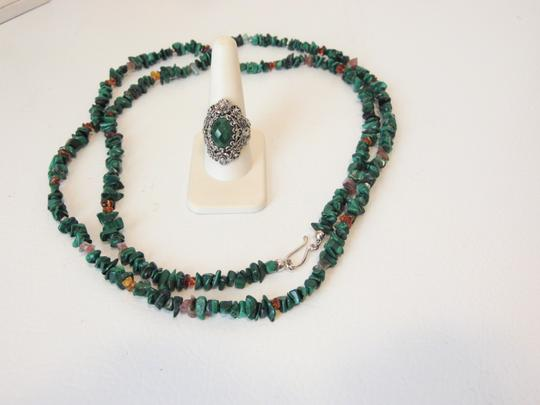 Other Turquoise Necklace and Ring Set 10 Image 1