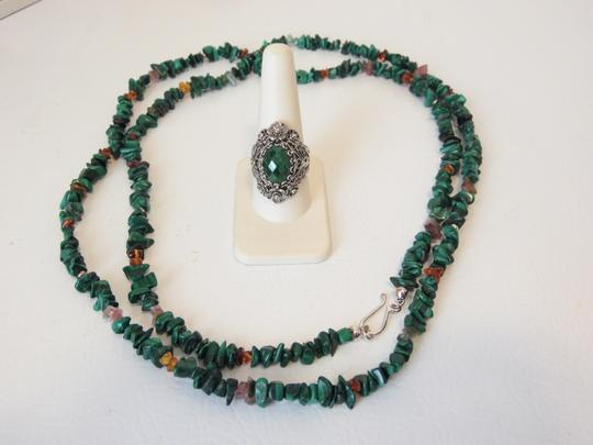 Other Turquoise Necklace and Ring Set 10 Image 2