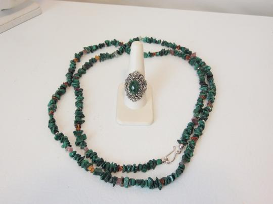 Other Turquoise Necklace and Ring Set 10 Image 3