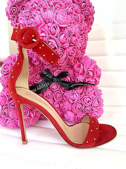 Gianvito Rossi red Sandals Image 7