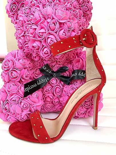 Gianvito Rossi red Sandals Image 8