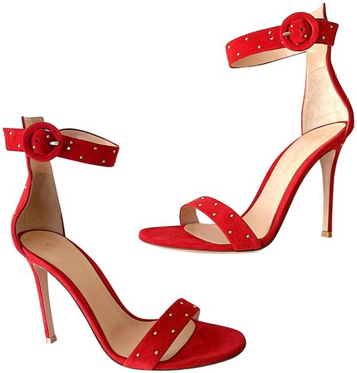 Preload https://img-static.tradesy.com/item/25951172/gianvito-rossi-red-portofino-studded-gold-tobasco-suede-open-toe-heels-sandals-size-eu-41-approx-us-0-1-540-540.jpg
