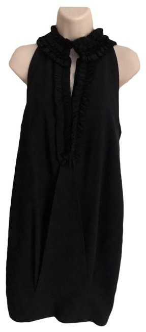 Preload https://img-static.tradesy.com/item/25951179/robert-rodriguez-black-ruffle-neck-with-pockets-and-racerback-short-cocktail-dress-size-2-xs-0-1-650-650.jpg