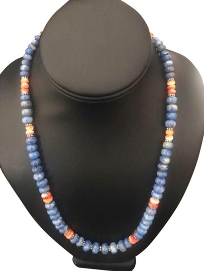 Preload https://img-static.tradesy.com/item/25951184/lapis-sterling-silver-necklace-0-1-540-540.jpg