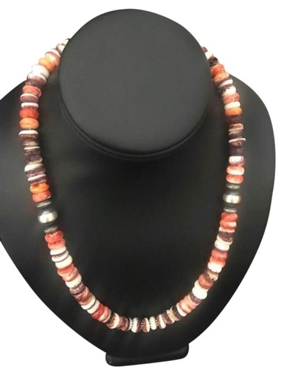 Preload https://img-static.tradesy.com/item/25951209/orange-spiny-sterling-silver-necklace-0-1-540-540.jpg
