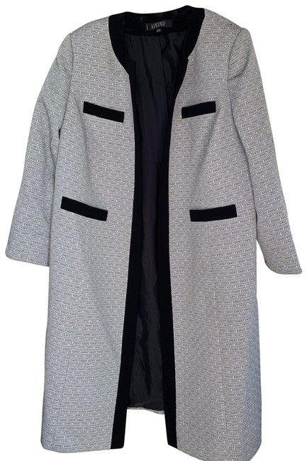 Item - Grey with Black Trimmings Suit Coat Size 20 (Plus 1x)
