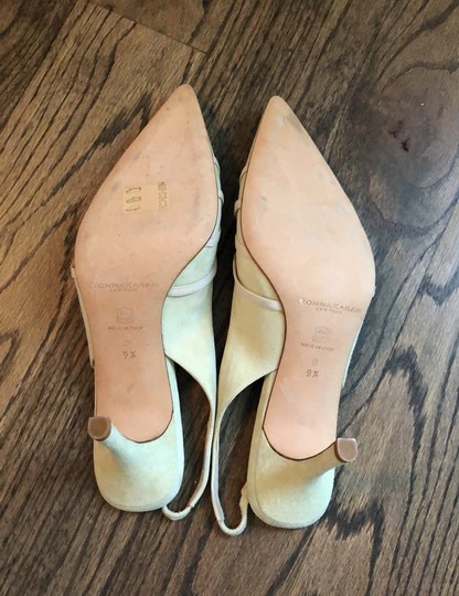 Donna Karan cream, mint green Pumps Image 4