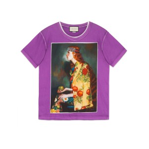 Gucci T Shirt Purple
