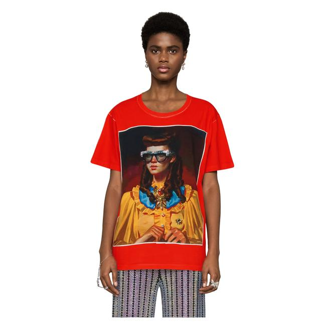 Gucci T Shirt Red Image 3