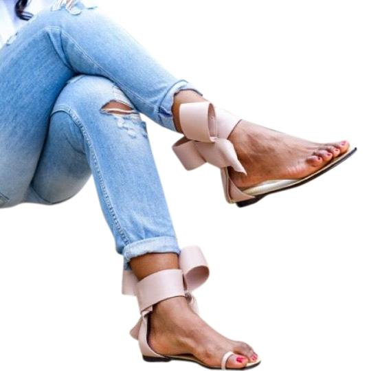 Preload https://img-static.tradesy.com/item/25951564/bow-blush-color-sandals-size-us-10-regular-m-b-0-2-540-540.jpg