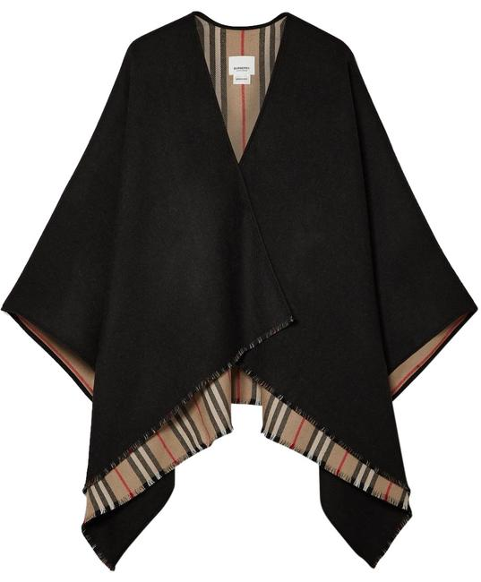 Preload https://img-static.tradesy.com/item/25951611/burberry-reversible-stripe-wool-wrap-check-ponchocape-size-os-one-size-0-1-650-650.jpg