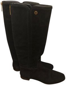 Tory Burch Irene Leather Black Boots