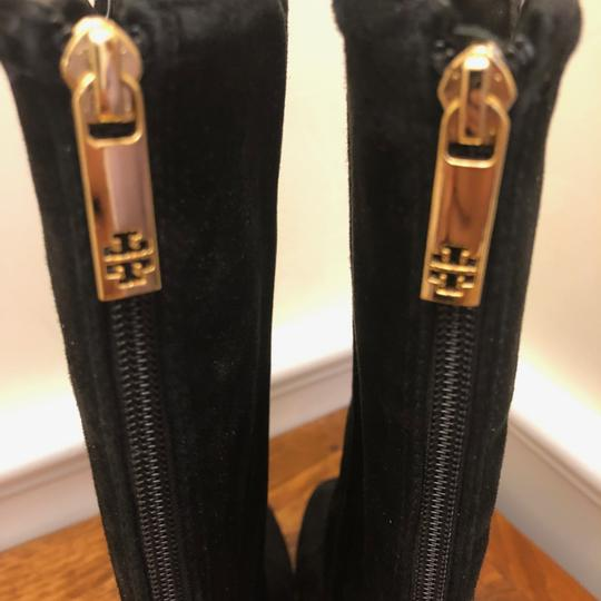 Tory Burch Irene Leather Black Boots Image 2