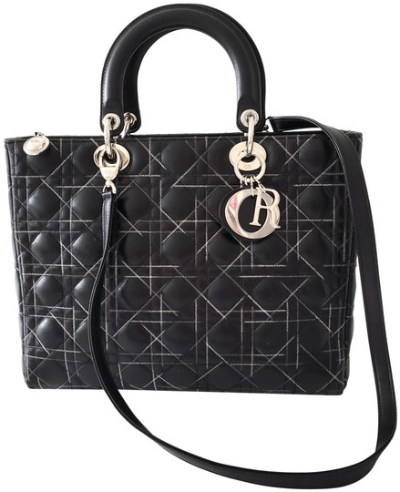 Preload https://img-static.tradesy.com/item/25951682/dior-lady-large-cannage-stitched-black-lambskin-leather-tote-0-2-540-540.jpg