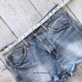 Free People Cut Off Shorts blue Image 5