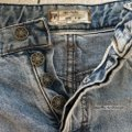 Free People Cut Off Shorts blue Image 6