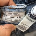 Free People Cut Off Shorts blue Image 7