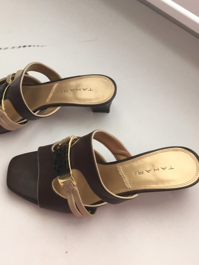 Tahari brown Sandals Image 1