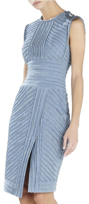 Item - Light Blue Cecily Mid-length Cocktail Dress Size 4 (S)
