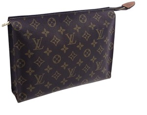 Louis Vuitton Vintage Toiletry Pouch 26 Monogram Large Cosmetics Travel Dopp Bag