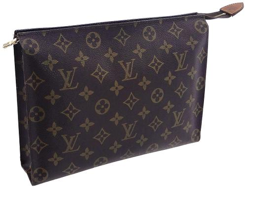 Preload https://img-static.tradesy.com/item/25951865/louis-vuitton-brown-toiletry-pouch-vintage-26-monogram-large-travel-dopp-cosmetic-bag-0-1-540-540.jpg