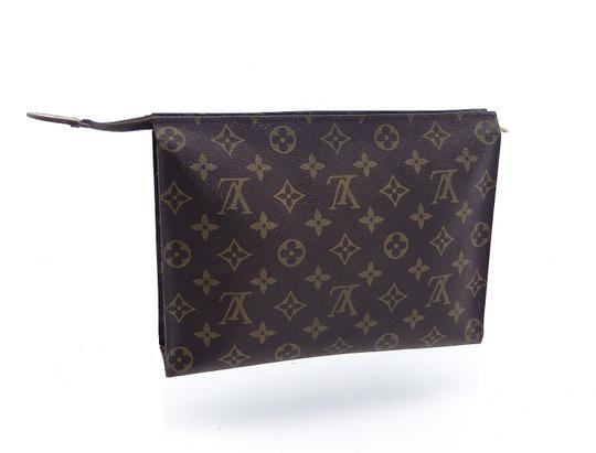 Louis Vuitton Vintage Toiletry Pouch 26 Monogram Large Cosmetics Travel Dopp Bag Image 10