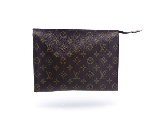 Louis Vuitton Vintage Toiletry Pouch 26 Monogram Large Cosmetics Travel Dopp Bag Image 2