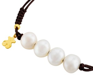 TOUS TOUS Nudos bracelet in vermeil silver with 0.9-1 cm cultured pearls. B