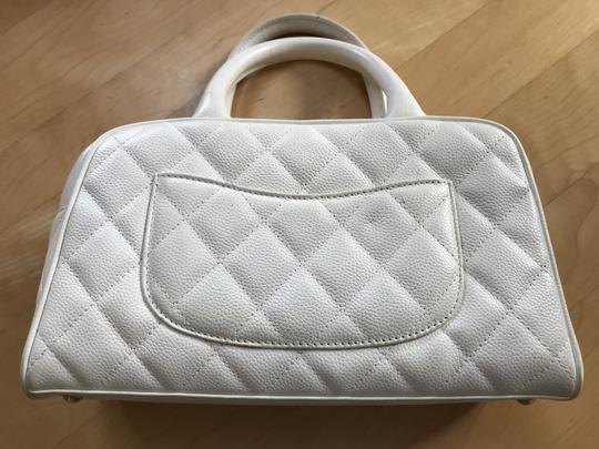 Chanel Satchel in White Image 1