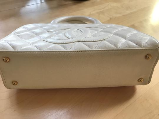 Chanel Satchel in White Image 2