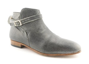 Dieppa Restrepo Mer Taupe Strap Buckle Gray Boots