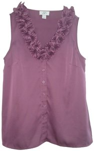 Ann Taylor LOFT Valentino Chanel Gucci Coach Bling Top Dusty Rose