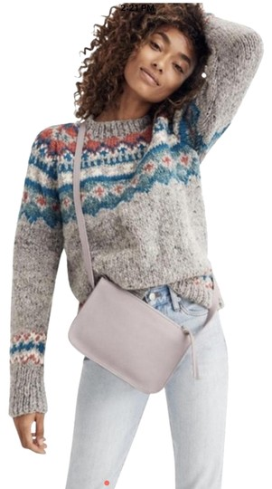 Preload https://img-static.tradesy.com/item/25952062/madewell-new-simple-violet-pale-pinklavender-leather-cross-body-bag-0-2-540-540.jpg