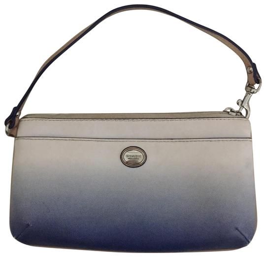 Preload https://img-static.tradesy.com/item/25952111/coach-ombre-blue-and-white-leather-wristlet-0-1-540-540.jpg