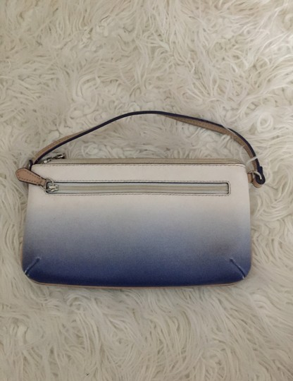 Coach Wristlet in blue and white Image 1