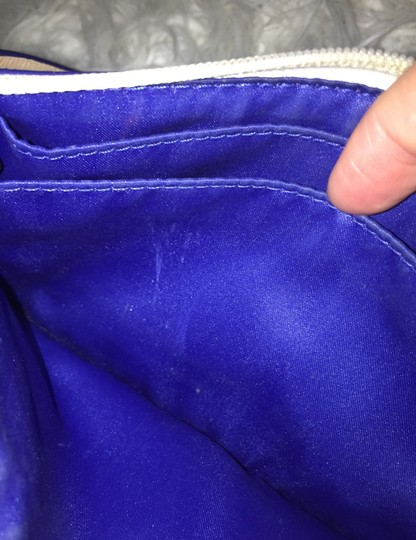 Coach Wristlet in blue and white Image 5