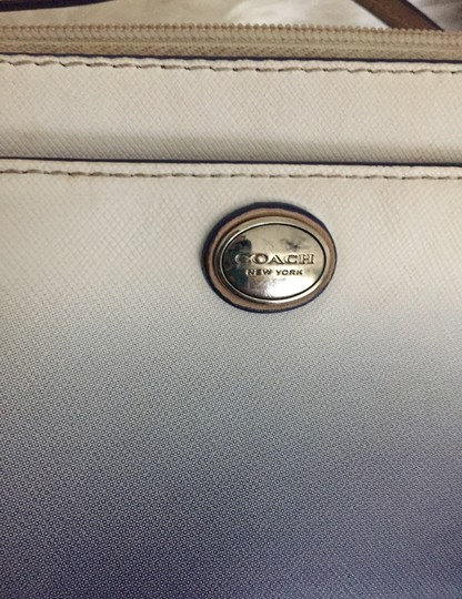 Coach Wristlet in blue and white Image 6