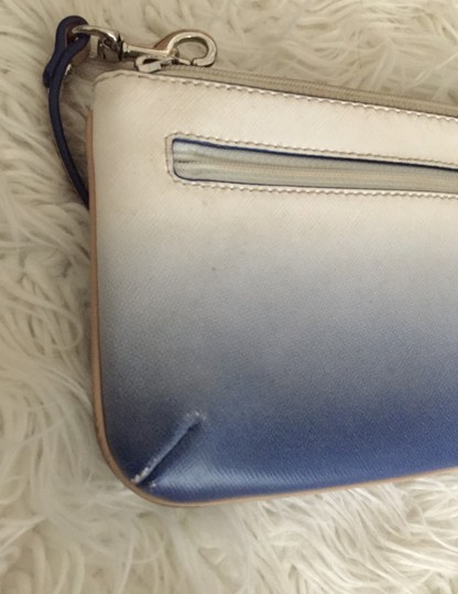 Coach Wristlet in blue and white Image 7